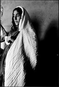 Pregnant Afghan Refugee Woman