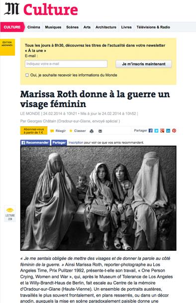 Le Monde_Marissa Roth_01